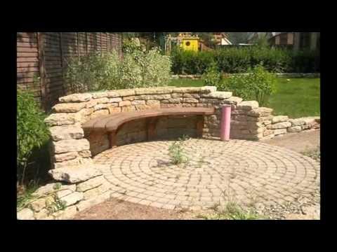 30 самых красивых скамеек для вашего сада