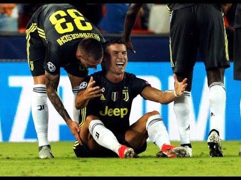 Ronaldo Çıldırdı! Kırmızı Kart Sonrası Kendini Yerden Yere Vurdu,Sevenlerini Üzdü..