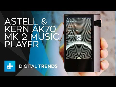 Astell & Kern AK70 Mk 2 Music Player - Hands On Review