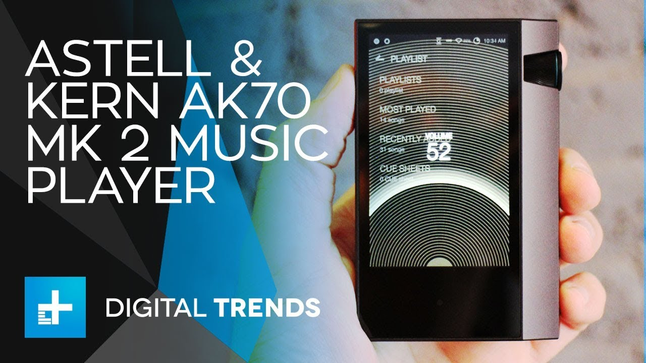 Astell & Kern AK70 Mk 2 Music Player – Hands On Review