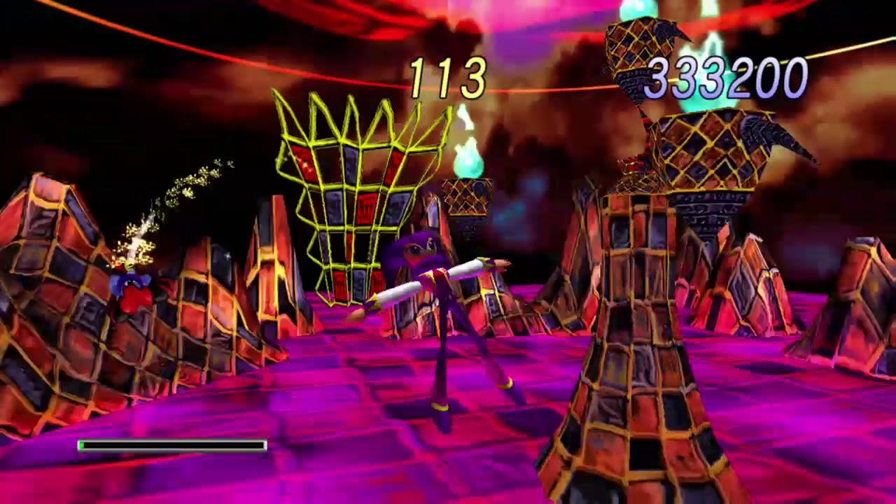 NiGHTS Into Dreams HD - Reala boss battle - balan wonderworld review reseña