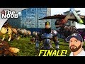ARK Ragnarok:  How To Lose A Boss Fight! Season Finale S08 E49   TheNoob Official