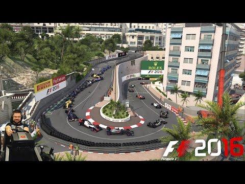Аварийное Гран-при Монако McLaren-Honda F1 2016