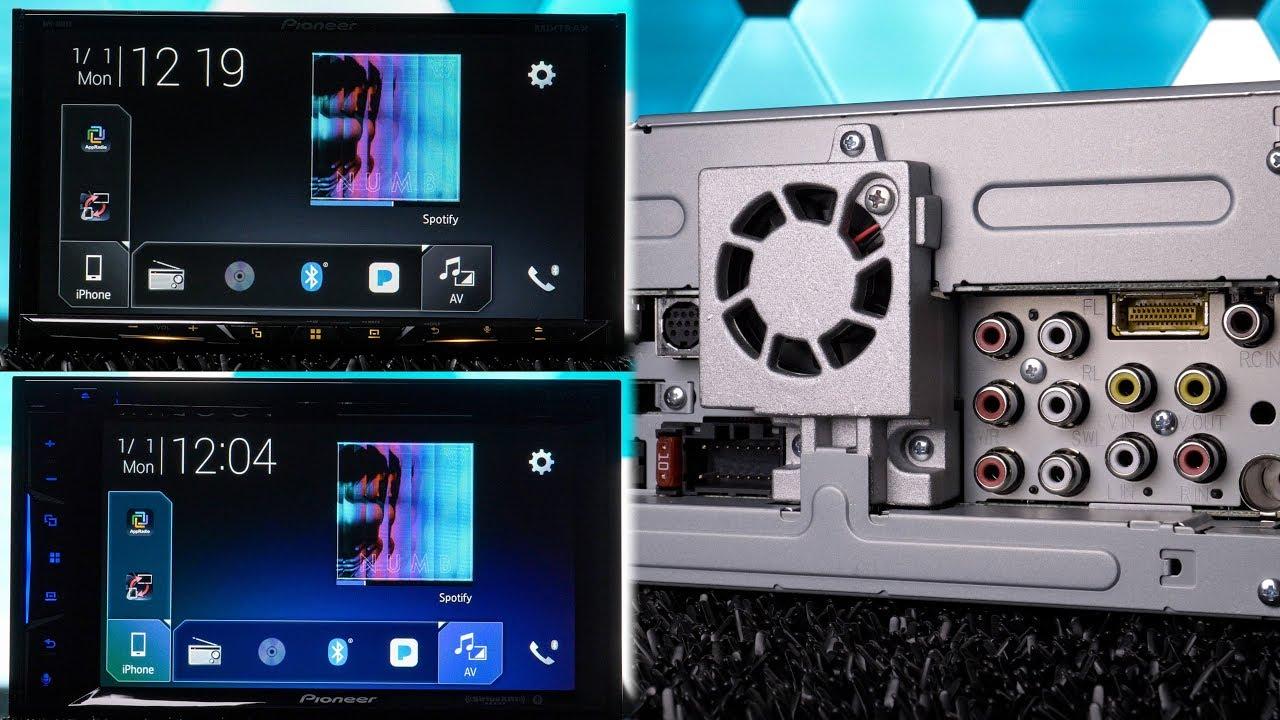 Stereo Wire Diagram Pioneer Avh 500ex Vs Avh 600ex Stereo Battle Youtube