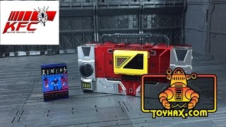 Toyhax Reprolabels KFC Transistor Sticker Set