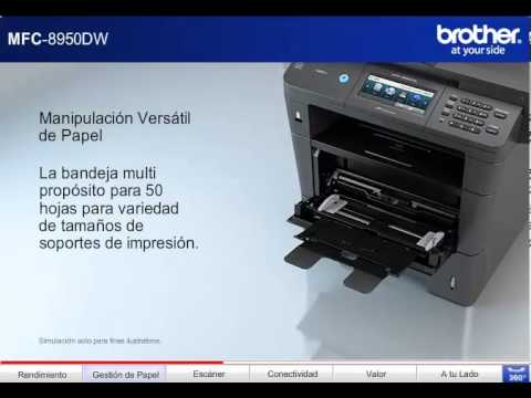 Brother MFC-8950DW Printer Windows Vista 64-BIT