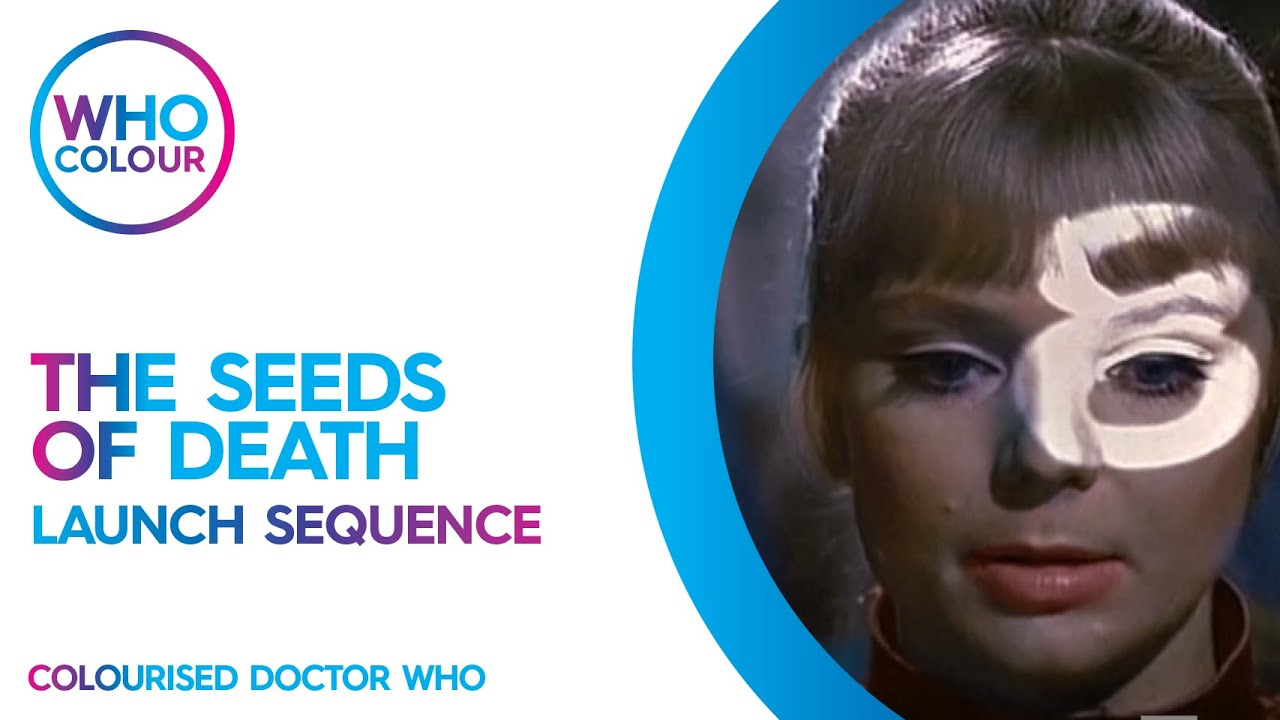 Download Doctor Who The Seeds of Death Launch Sequence Colourisation