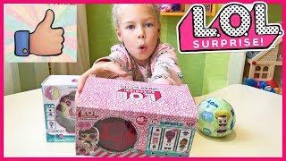 Распаковка LOL UNDER WRAPS НЕ ОРИГИНАЛ! Открываю ЛОЛ Surprise Капсула Eye spy doll Игрушки для детей