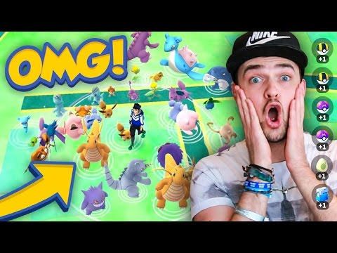 Download Youtube: Pokemon GO - LOOK AT THESE INSANE SPAWNS!