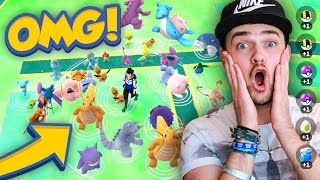 Pokemon GO - LOOK AT THESE INSANE SPAWNS!