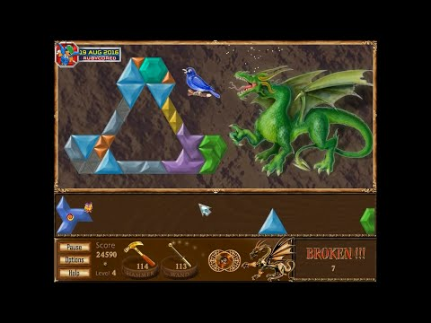 Magic Inlay (2003, PC) - 04 Of 22: Dragon Land 4 - Green Dragon [720p60]