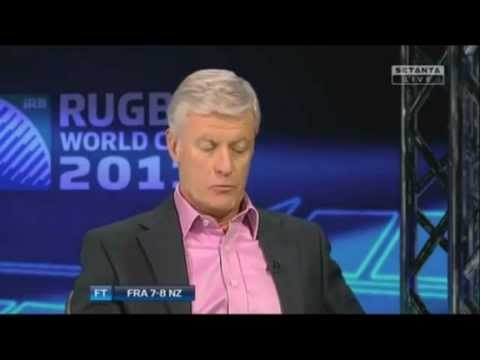 Craig Joubert - RWC 2011 Final - New Zealand V France - Post Match Analysis on the Referee