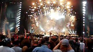 AC/DC Black Ice World Tour:  Animated Intro + Rock 'N Roll Train live in Amsterdam 23/06/2009