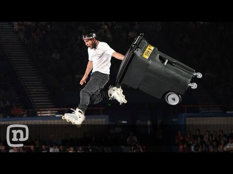 Rollerblader Chris Haffey Performs Stunts: Nitro Circus Live