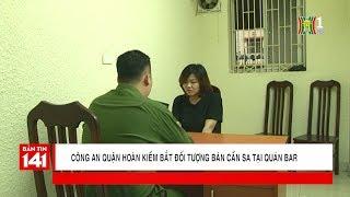 BẢN TIN 141   03.05.2018   Công an quận Hoàn Kiếm bắt đối tượng bán cần sa tại quán bar