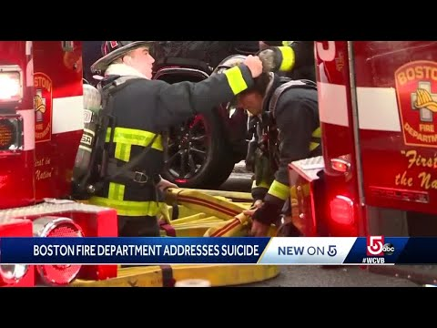 Boston Fire focusing on mental health, well-being in ranks