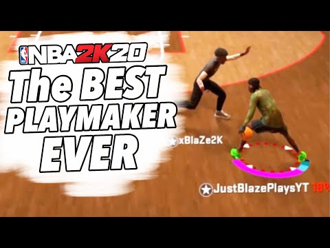 My 6'6 PURE PLAYMAKER is UNSTOPPABLE in COMP STAGE NBA 2K20