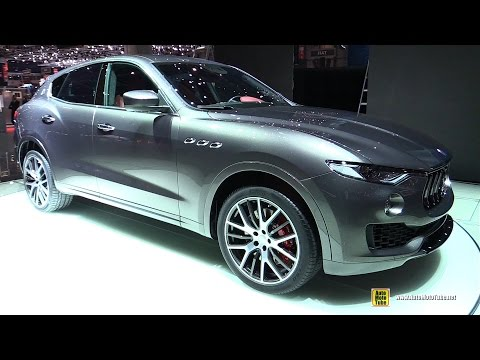 2017 Maserati Levante - Exterior and Interior Walkaround - 2016 Geneva Motor Show