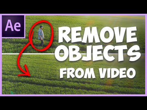 Remove Objects from Video in After Effects CC 2020
