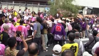 2016 間人けんか屋台祭り 谷区x小間東区