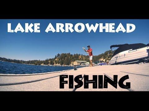 I Got To Fish Lake Arrowhead!!