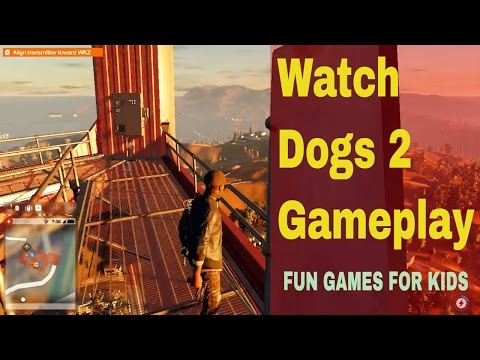 Watch Dogs 2 Gameplay - watch dogs 2 walkthrough gameplay part 1 - intro (ps4 pro)