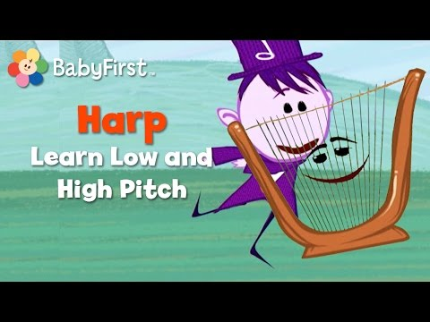 Harp | Notekins | Music Videos | BabyFirst TV