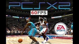 NBA LIVE 2004 PS2 PCSX2 60fps 1440p HD i7 4790k (EA Sports, 2003)