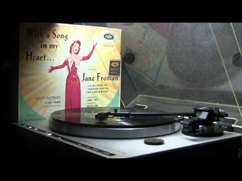I'm Thru With Love - Jane Froman - 1952