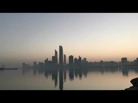 Abu Dhabi Heritage Village Sunrise Wakeup Time Lapse
