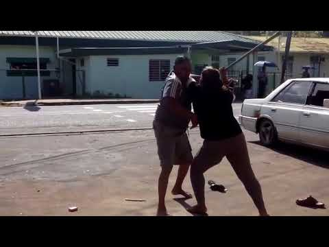 Only in Trinidad touruba (Woman beat up man) viral post Must watch!