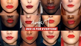 RED LIPSTICK IS FOR EVERYONE!! 20 REASON WHY YOU SHOULD WEAR IT 💄 | #DIVERSIT