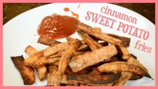 ♥ How To ♥ Cinnamon Sweet Potato Fries! Thumbnail