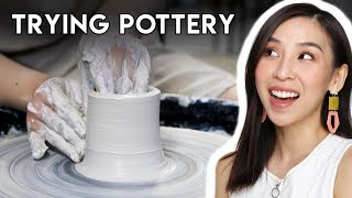 Trying Pottery For The First Time  |  Tina Tries It
