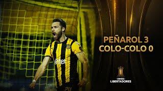 Peñarol vs. Colo-Colo [3-0] | RESUMEN | Fase de Grupos | Jornada 5 | CONMEBOL Libertadores 2020