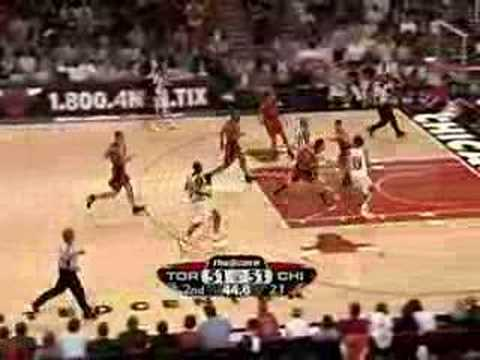 Toronto Raptors vs Chicago Bulls Apr.16/08
