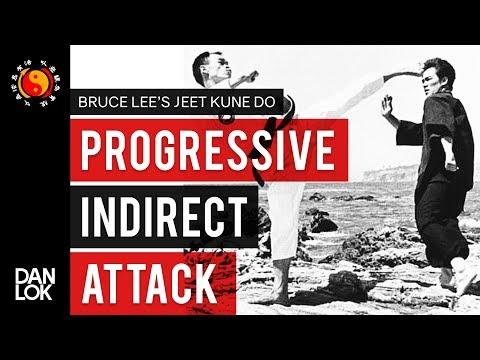 Bruce Lee's Jeet Kune Do's Five Ways of Attack: Progressive Indirect Attack (PIA)