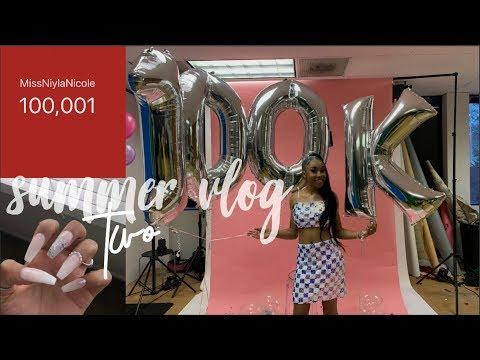 SUMMER VLOG #2⎪HITTING 100K!