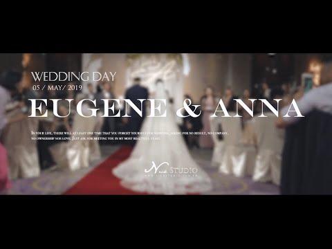 婚禮錄影] 文華東方 Anna & Eugene 微電影婚禮紀錄/結婚/宴客/SDE