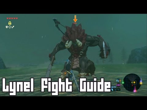 Fight This Boss DONT RUN, Easy Battle Lynel - Zelda Breath of the Wild