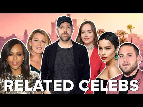 Famous People You Won't Believe Are Related