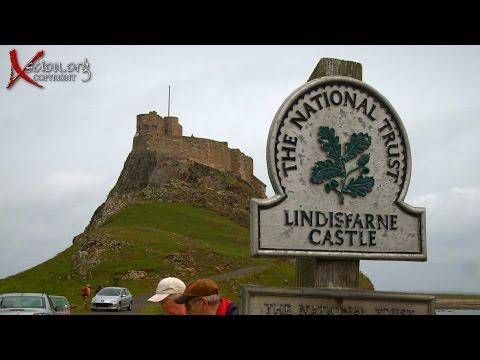 Scottish trip 2 The Holy Isle of Lisdisfarne England HD