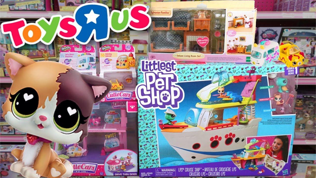 Fin LPS: Toy Hunt At Toys R Us    New Littlest Pet Shop, Sylvanian TP-98