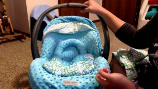 Carseat Canopy Review- whole caboodle 5 pc set