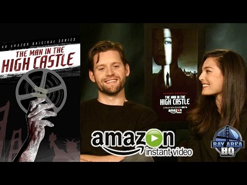 ALEXA DAVALOS & LUKE KLEINTANK ON A DATE?? THE MAN IN THE HIGH CASTLE  SEASON 2