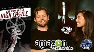 ALEXA DAVALOS & LUKE KLEINTANK ON A DATE?? THE MAN IN THE HIGH CASTLE INTERVIEW SEASON 2