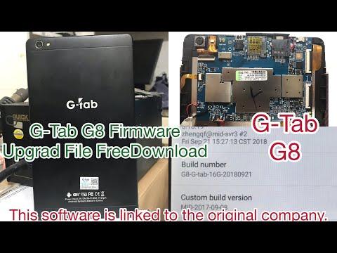 G-Tab G8 Firmware Update File Download Free  K716E K716G   G