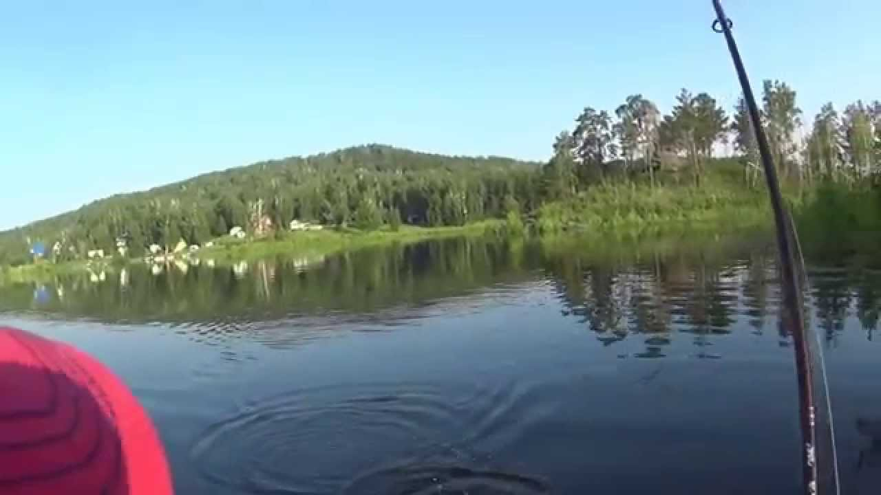 Ловля щуки на спиннинг в Челябинской обл, о. Аргази