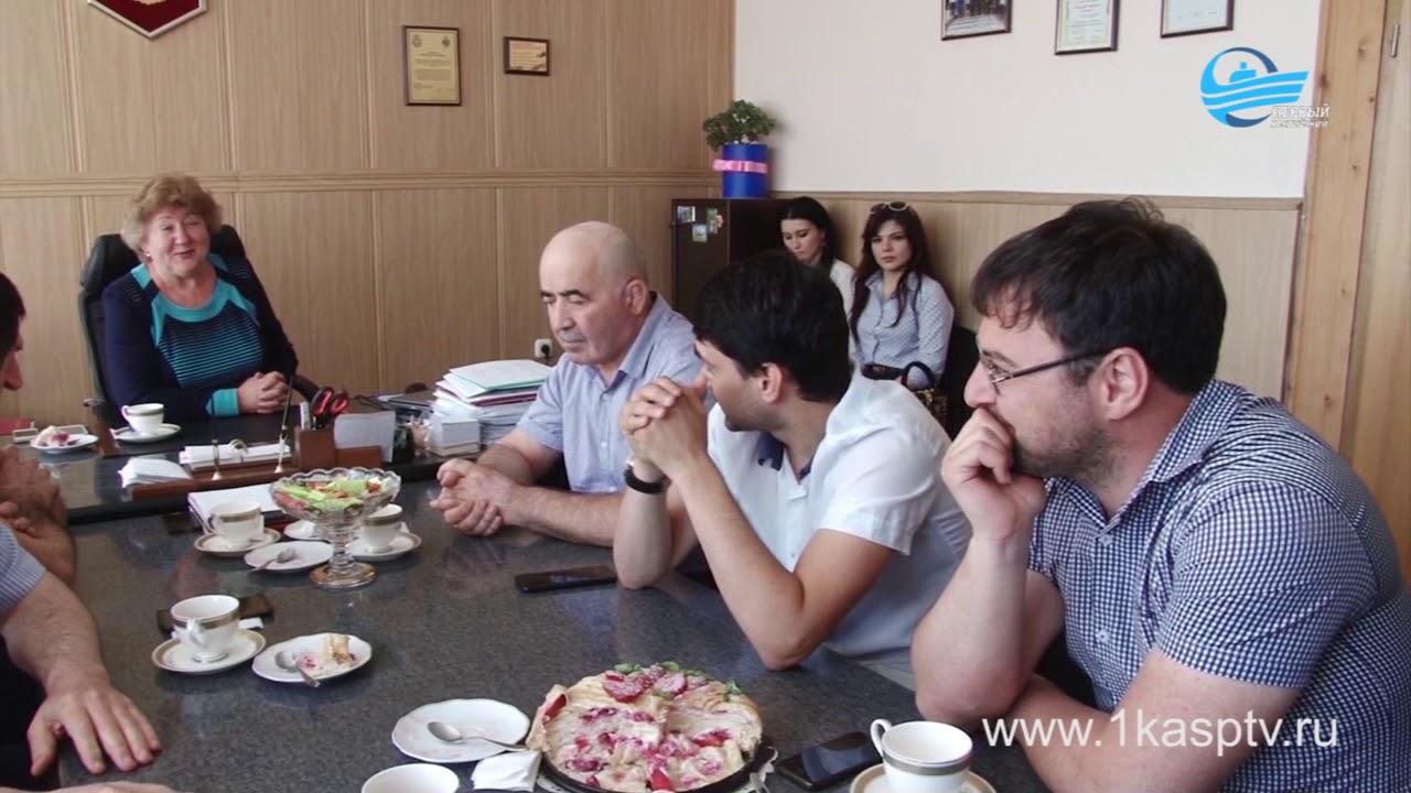 В Каспийск с рабочим визитом прибыл директор департамента по физической культуре, спорту и молодежной политике г.Рыбинск  Игорь Марков