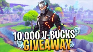 *NEW* FREE BATTLE PASS, SKINS AND MORE! 10,000 V-BUCKS GIVEAWAY - Fortnite: Battle Royale